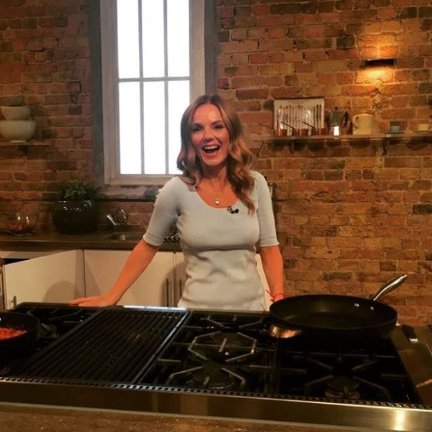 I'm cooking this morning - my childhood dream is coming true! 🍳@saturday.kitchen